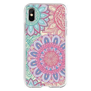 wholesale phone case - mandala-pink-blue