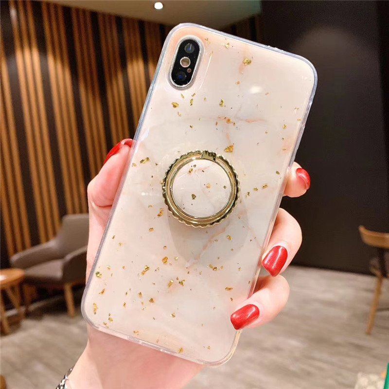 phone case manufacturer - iphone case with grip ring-beige