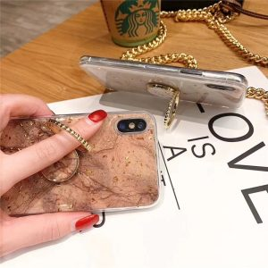 phone case manufacturer - iphone case with grip ring stand