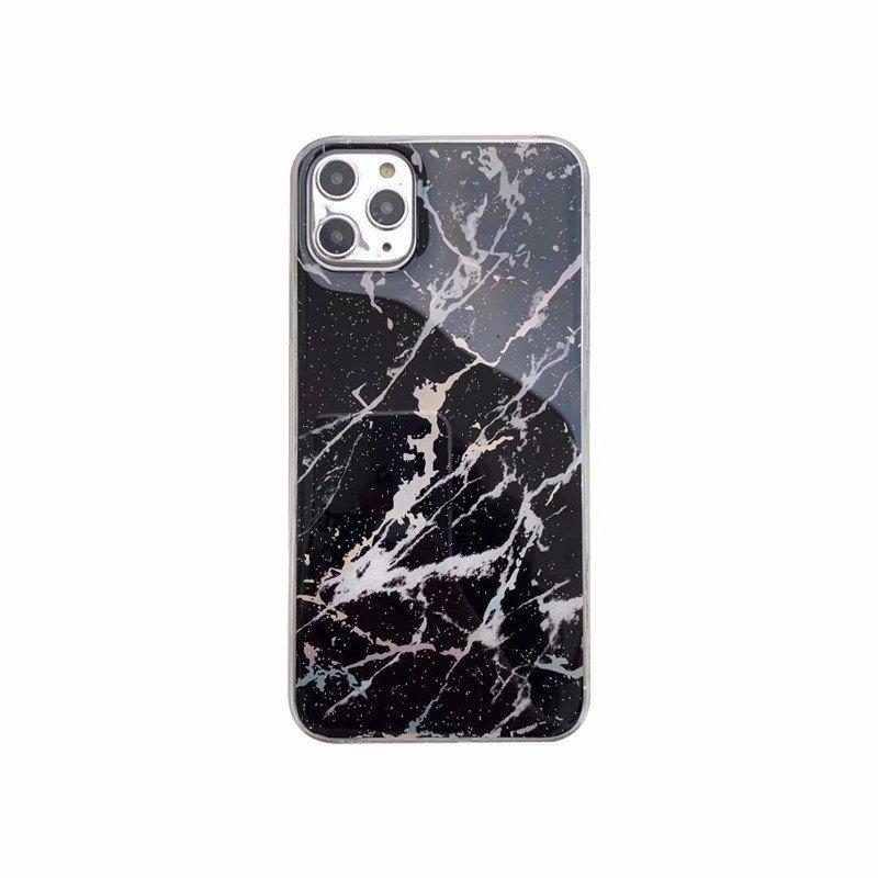 phone manufacturer-fashion black marble iphone 11 case