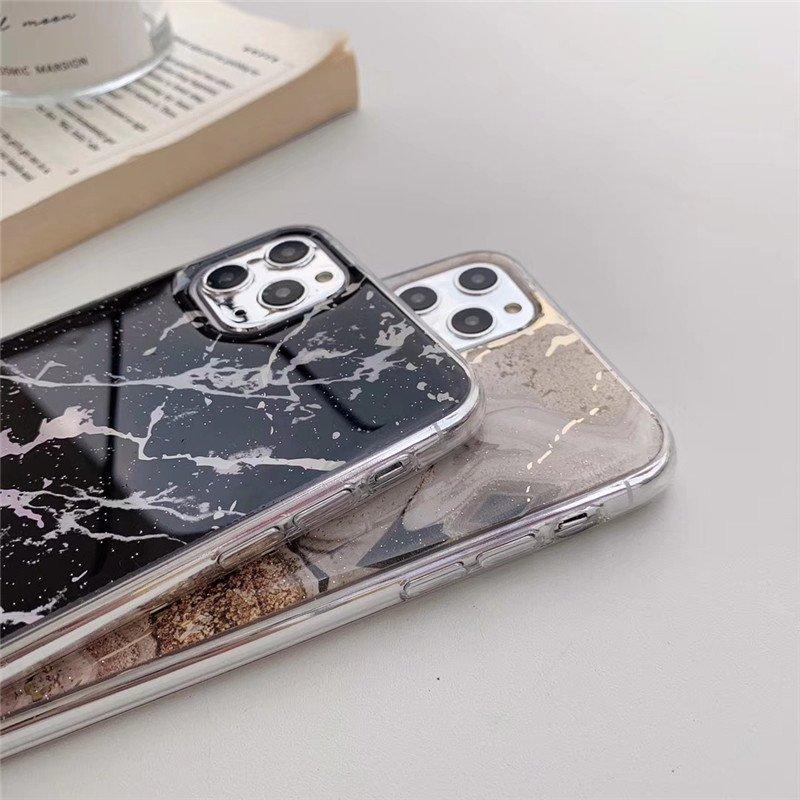 iphone case wholesaler - iphone 11 case-black marble