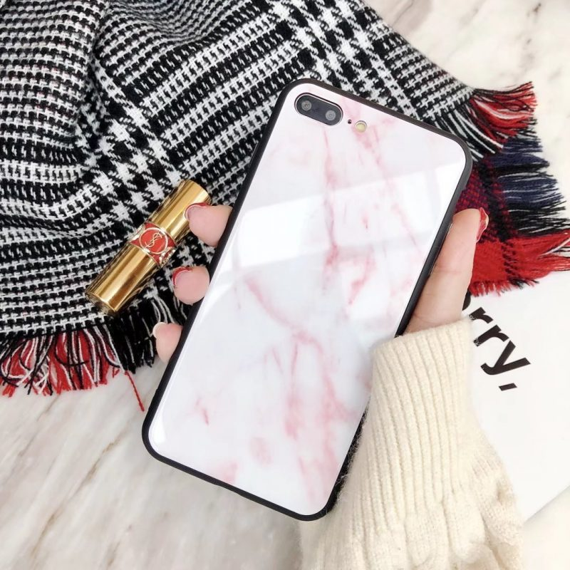 pink marble case for iphone x/11