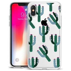 wholesale clear phone case-cactus