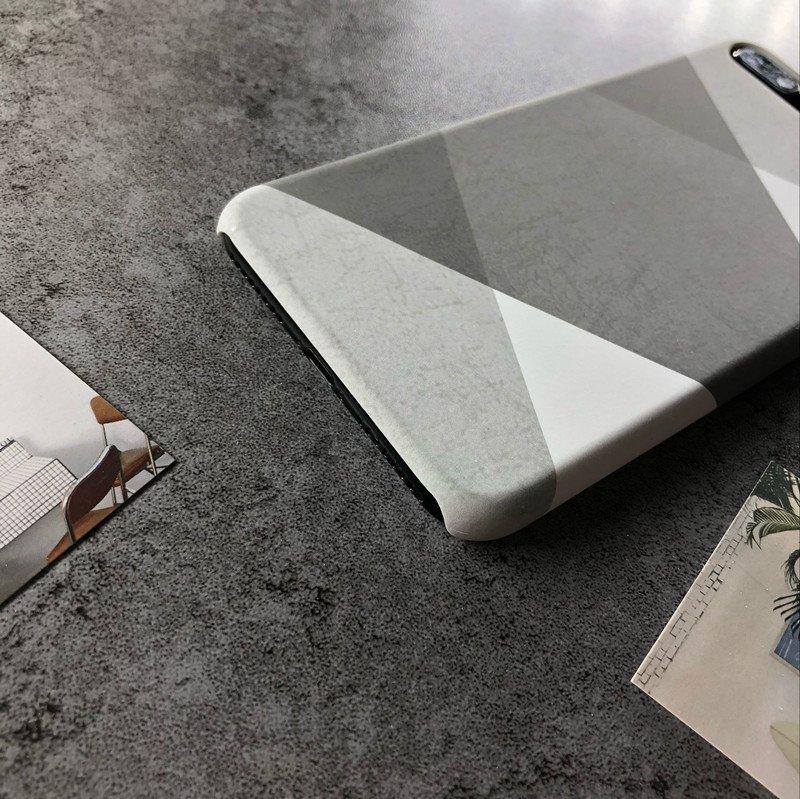 fashion phone case - check pattern