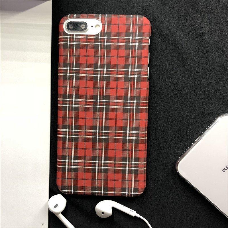 classic design iphone case in scottishpattern