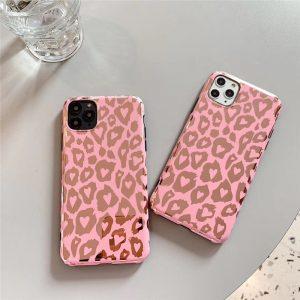 wholesale pink leopard iphone case