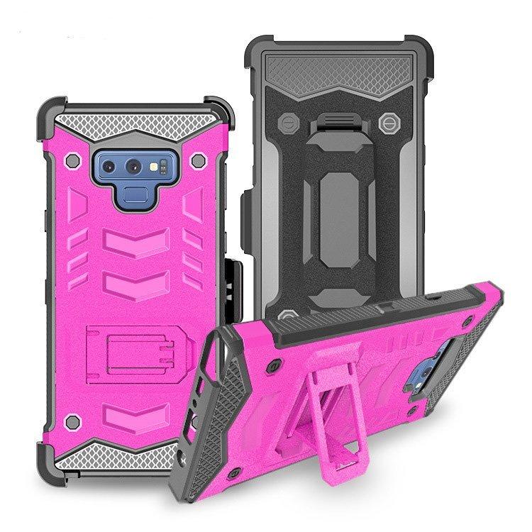 wholesale samsung phoen cases - armor case-pink