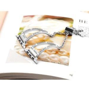 wholesale apple watch band, bling wristband