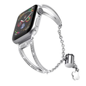silver apple watch band, wholesale