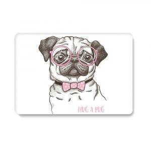 customize macbook case, cute puppy