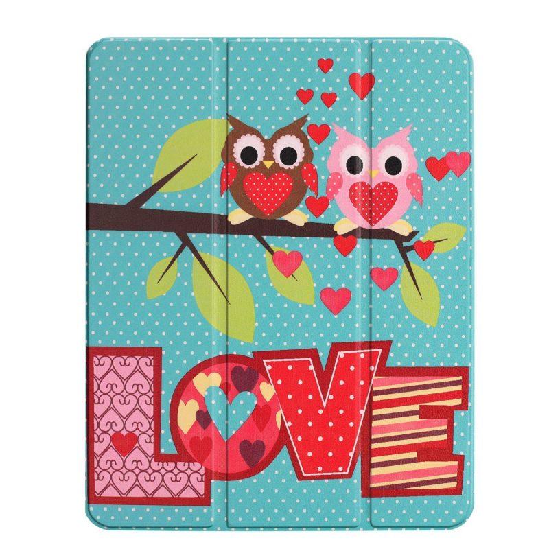 "custom ipad pro case 11"" - cute love birds"