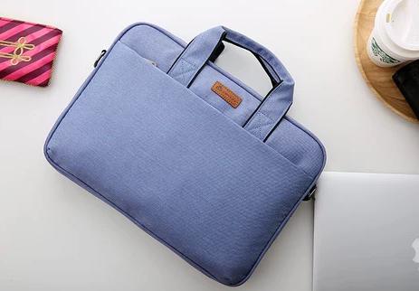 custom laptop bag purple