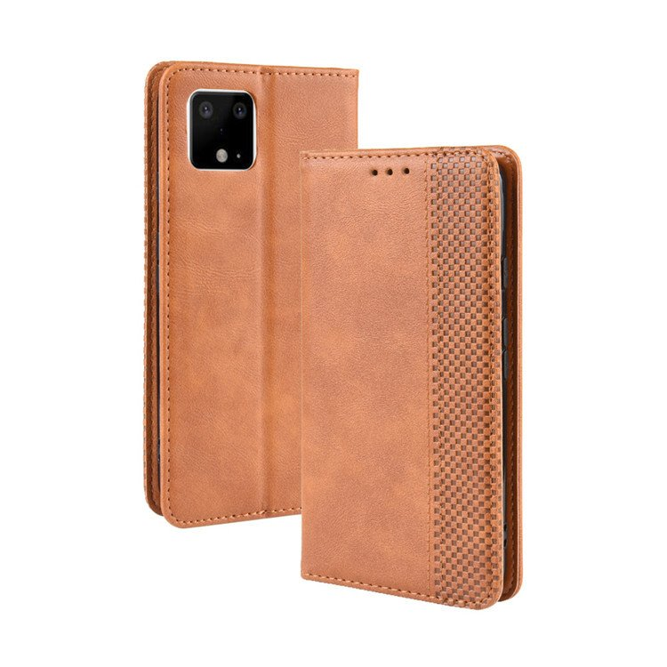 leather wallet case pixel 4