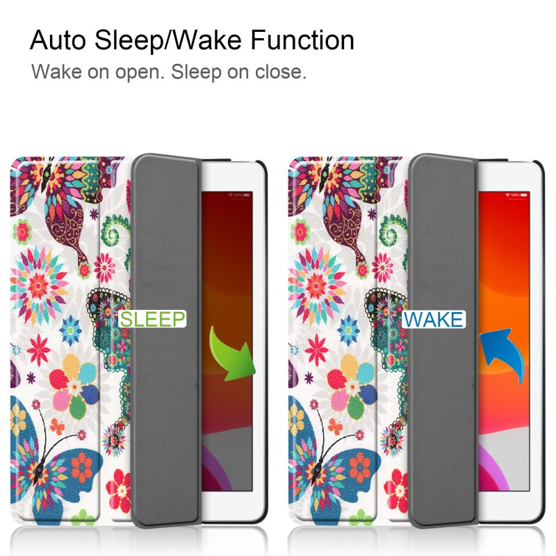 wholesale ipad case-auto wake-sleep