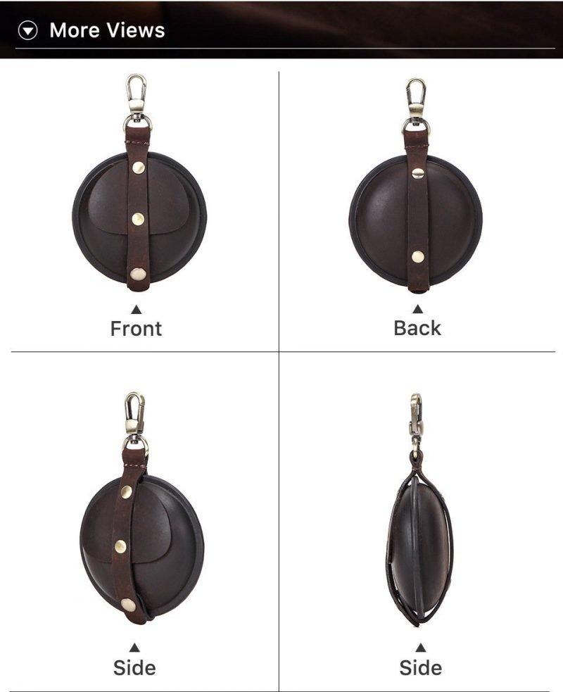 leather airpods pro case size-lovingcase