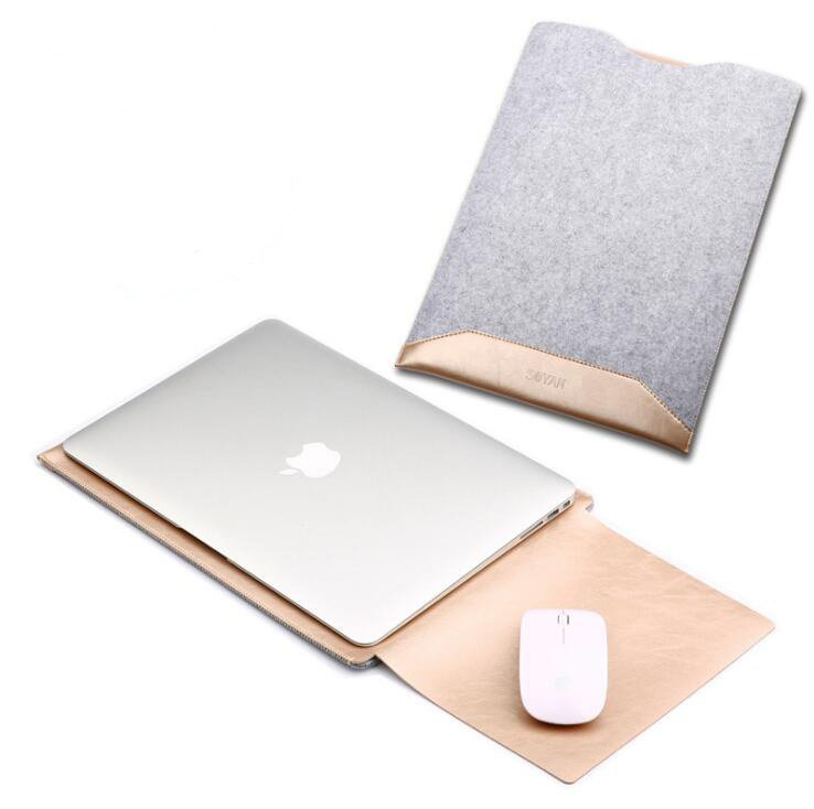 """macbook leather bag for air / pro 13"""" 15"""""""