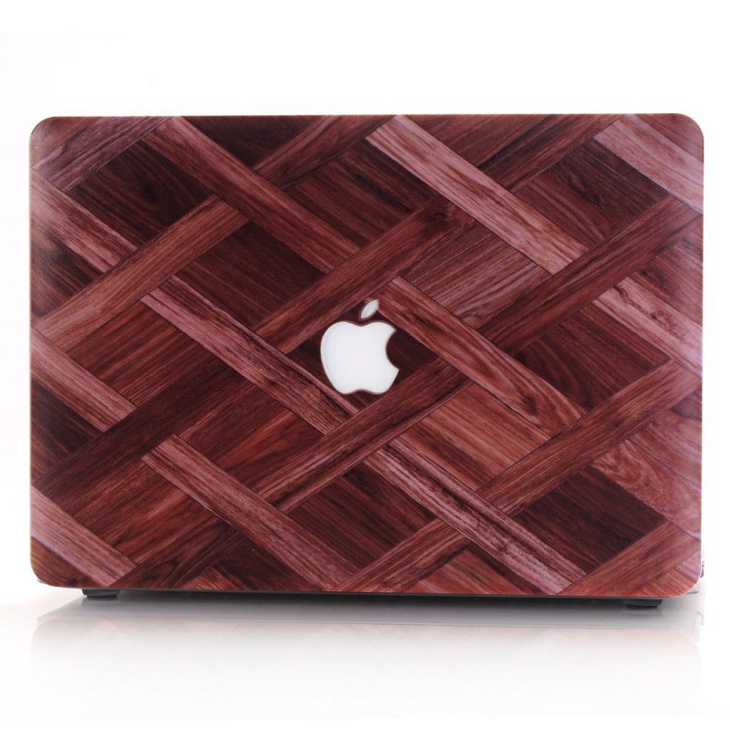 wood grain macbook case wholesale