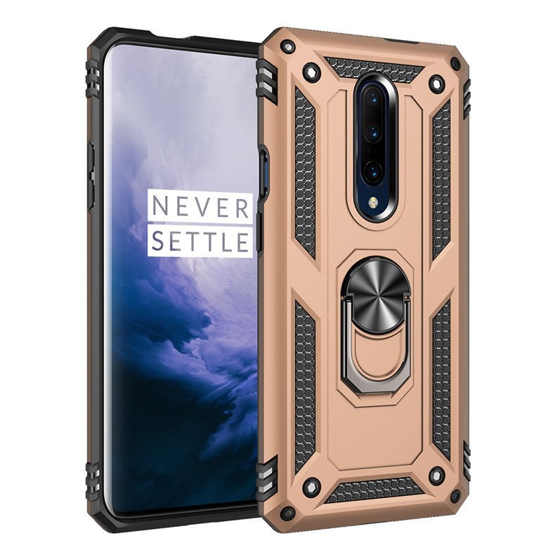 oneplus 7 pro rugged case, gold