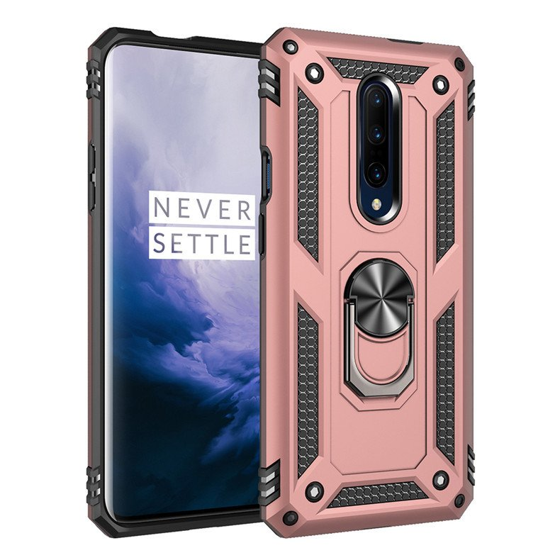 rosegold armor case for oneplus 7 pro