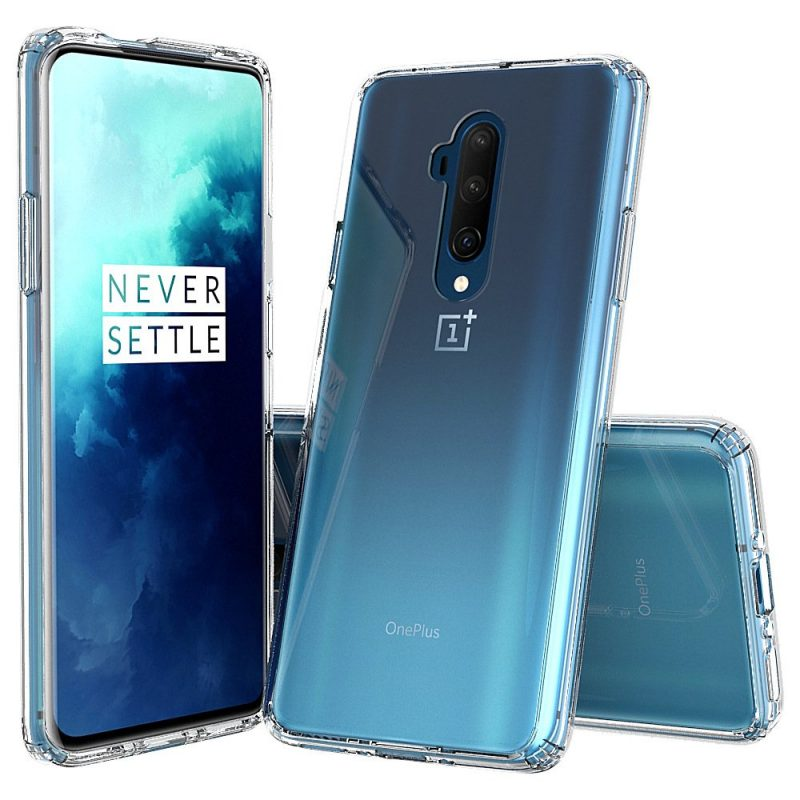 oneplus 7t pro cases & covers, clear