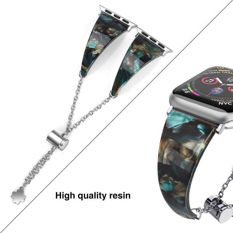 blue pearl shell apple watch band-lovingcase wholesale
