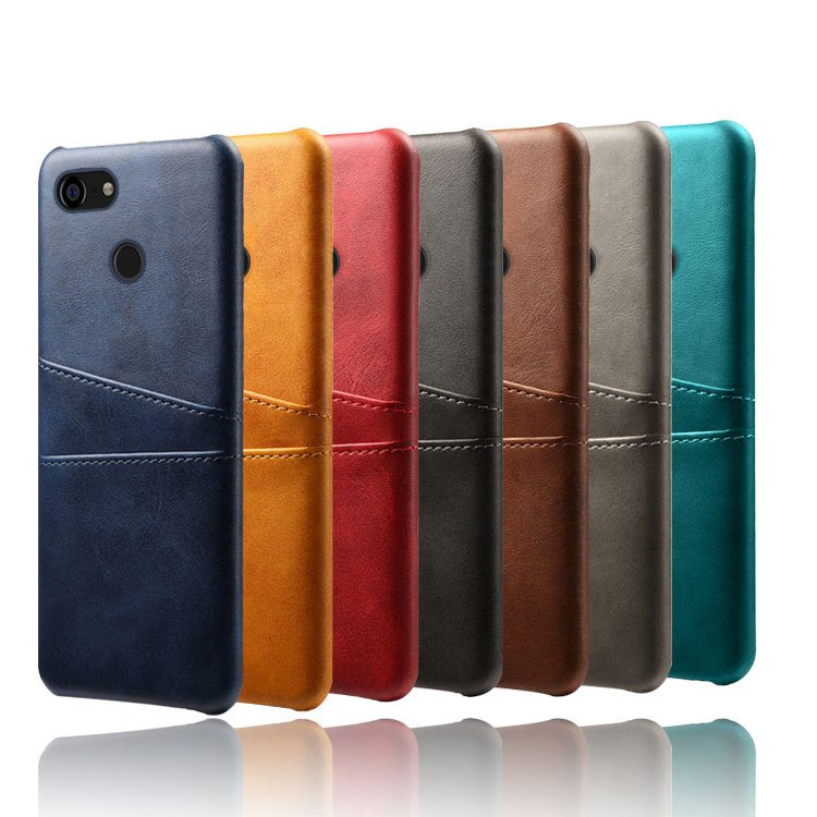 google pixel 3 phone case leather