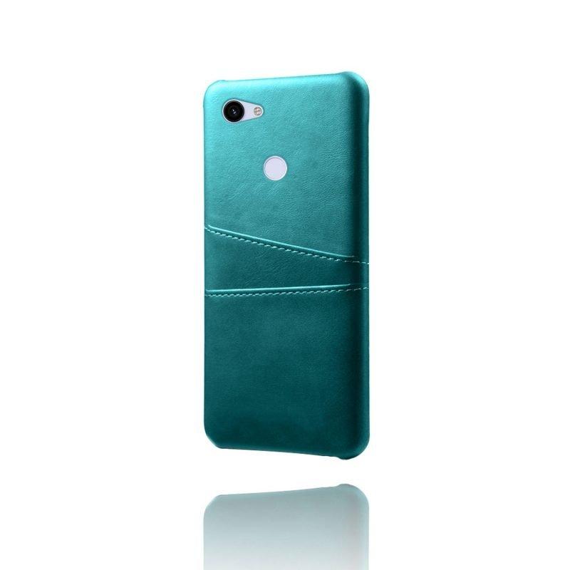 google pixel 3a xl case leather blue