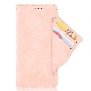 samsung galaxy case pink leather