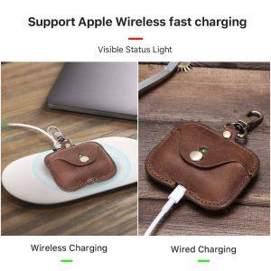 wholesale airpod pro case, leather