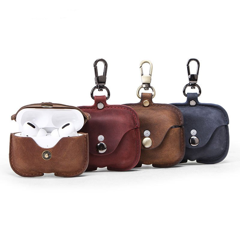 wholesale airpod pro case leather