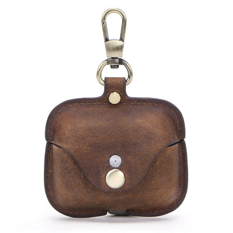 wholesale leather airpod pro case