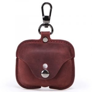 vintage leather airpod case - wholesale