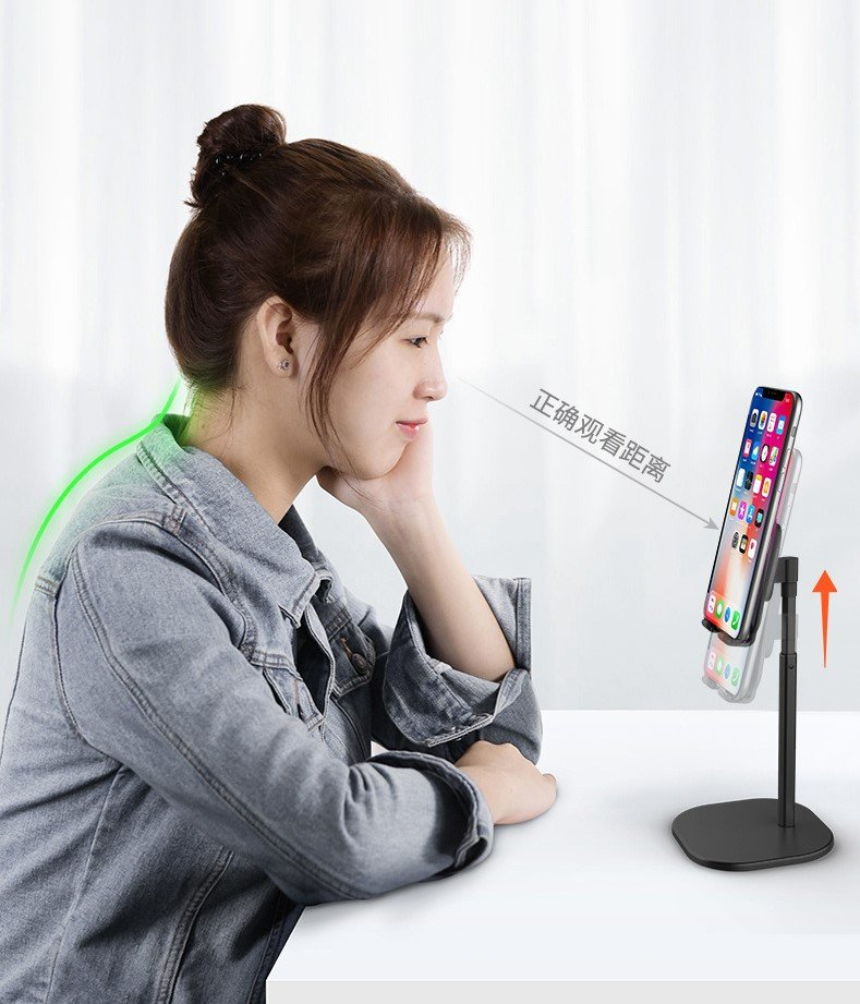 desktop cell phone tablet holder