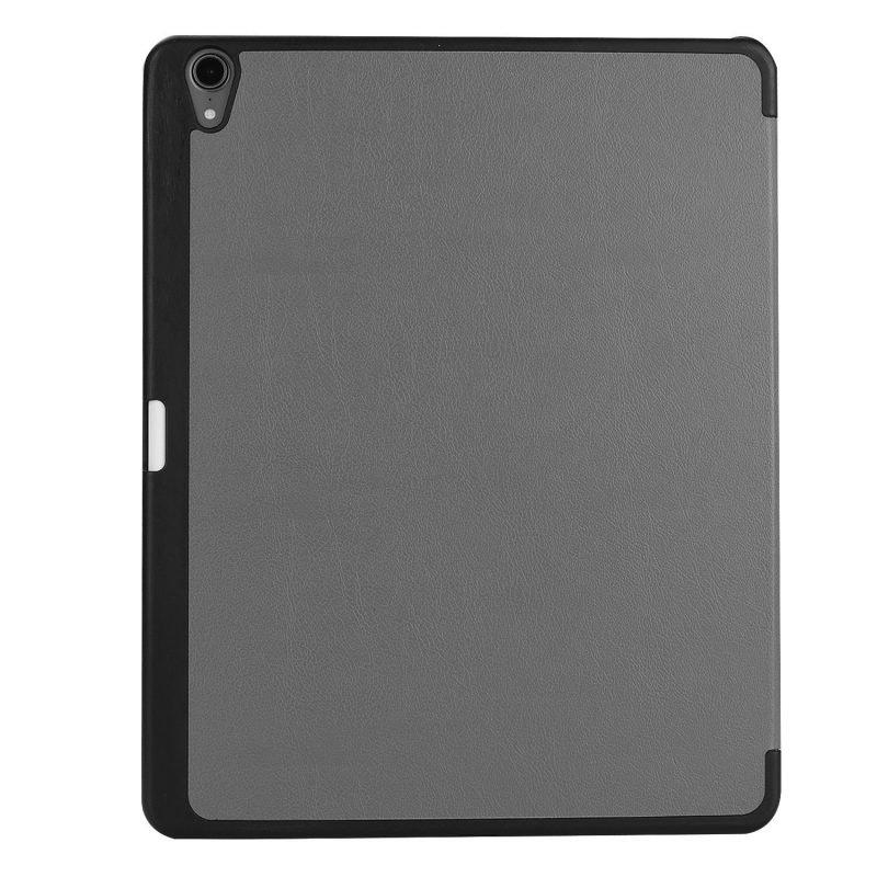 folio ipad case - pencil slot- grey