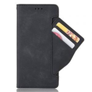 black leather case wallet for google pixel 4