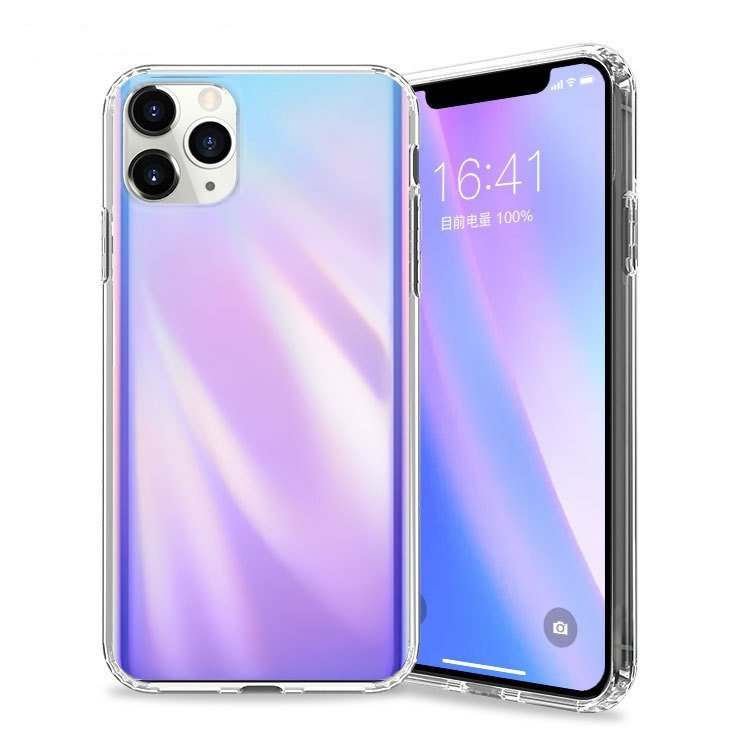 blue and purple summer case for iphone 11 / pro / pro max