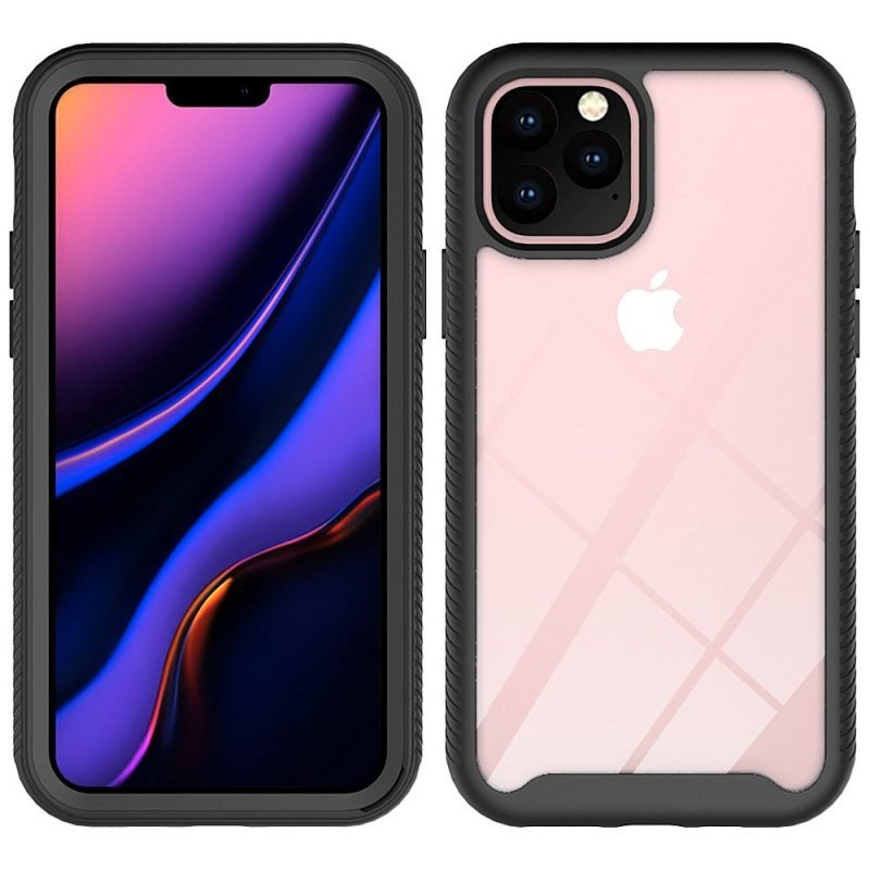 clear rugged iphone 11 pro max case