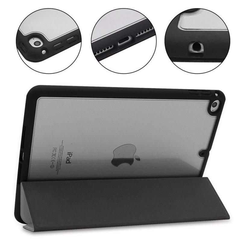 wholesale hybrid leather ipad case - mini