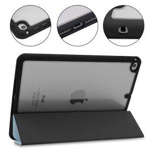 wholesale ipad cover -leather-blue