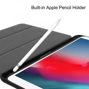 wholesale leather ipad case with pencil slot