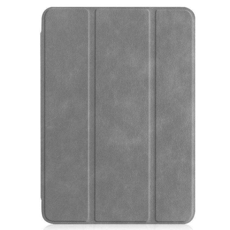 grey leather ipad case