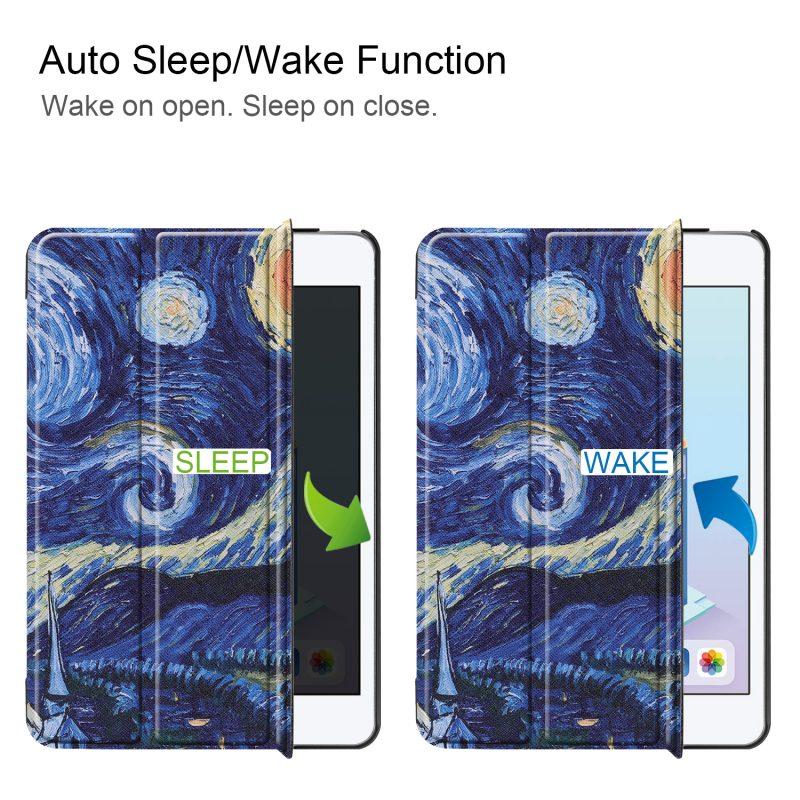 smart ipad mini cover - starry night