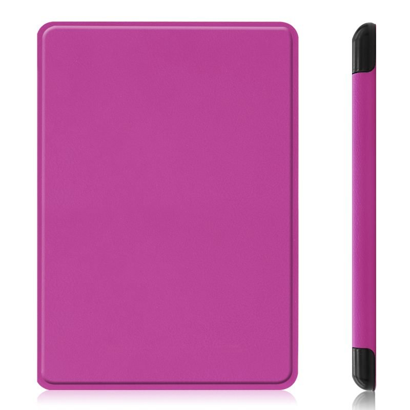 wholesale smart kindle cover-purple-folio