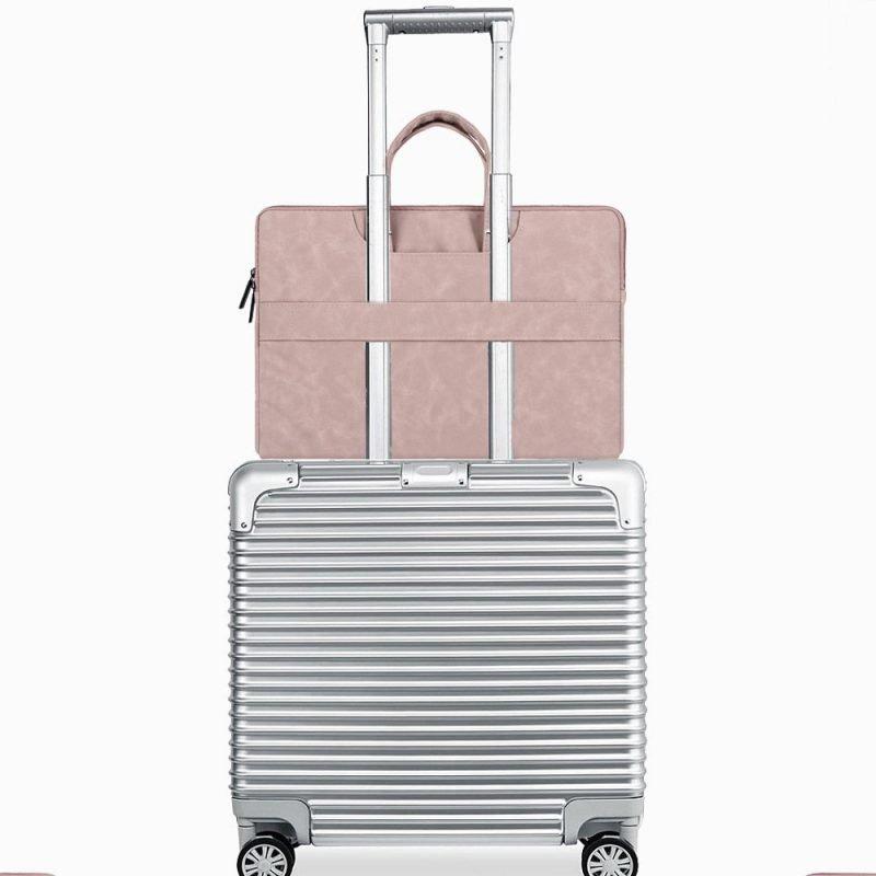 wholesale laptop bag - travel-pink