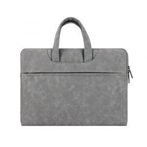 wholesale laptop bag - classic grey