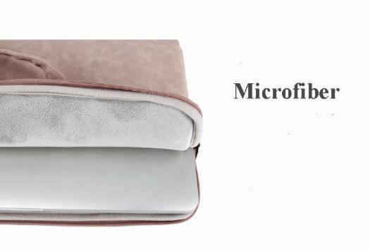 wholesale laptop bag-pink-microfiber