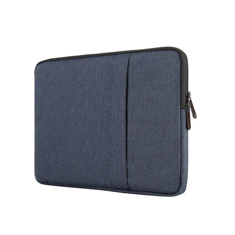 wholesale laptop sleeves navy blue-fabric