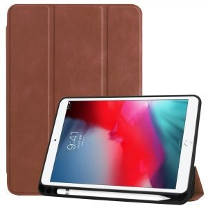wholesale leather ipad case -camel