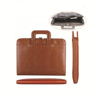 wholesale leather laptop bag - brown