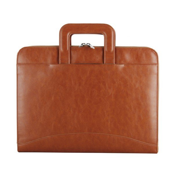 wholesale leather laptop bag-business style-brown